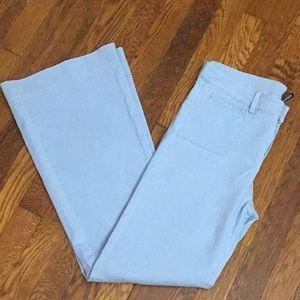 Light Blue Flared Pants